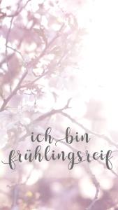"Wallpaper ""frühlingsreif"""